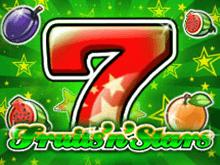 Fruits'n'Stars играть на деньги в казино Эльдорадо
