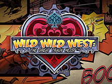 Wild Wild West: The Great Train Heist Слот